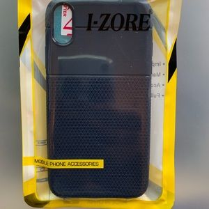 Navy blue IPhone case for XR